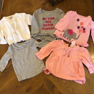Other - Baby Girl Long-Sleeved Tops